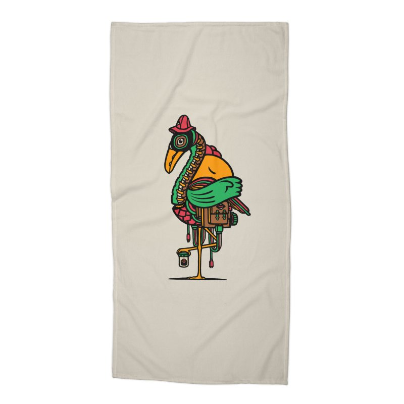 Birth Accessories Beach Towel by rasefour's Artist Shop