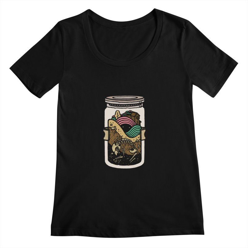 Historica Women's Scoopneck by rasefour's Artist Shop