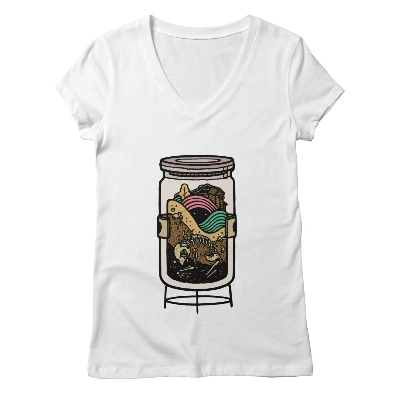 Historica Women's V-Neck by rasefour's Artist Shop