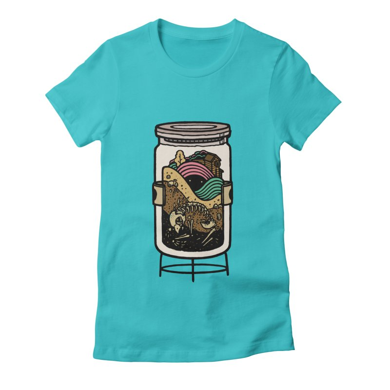 Historica Women's Fitted T-Shirt by rasefour's Artist Shop