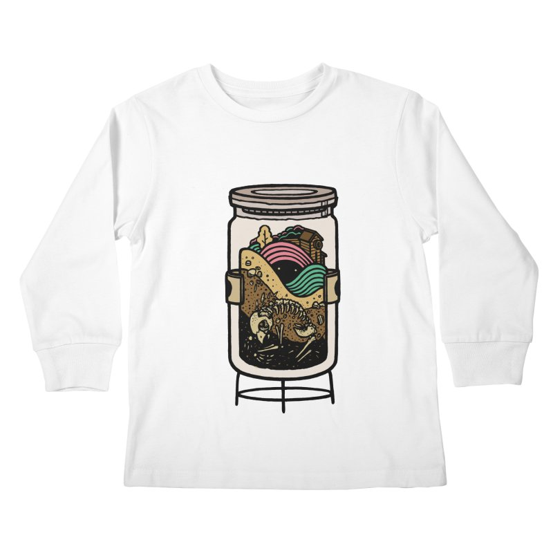 Historica Kids Longsleeve T-Shirt by rasefour's Artist Shop
