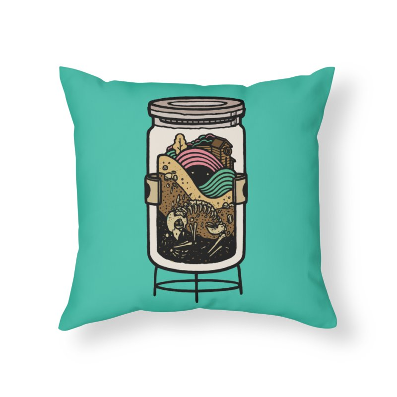 Historica Home Throw Pillow by rasefour's Artist Shop