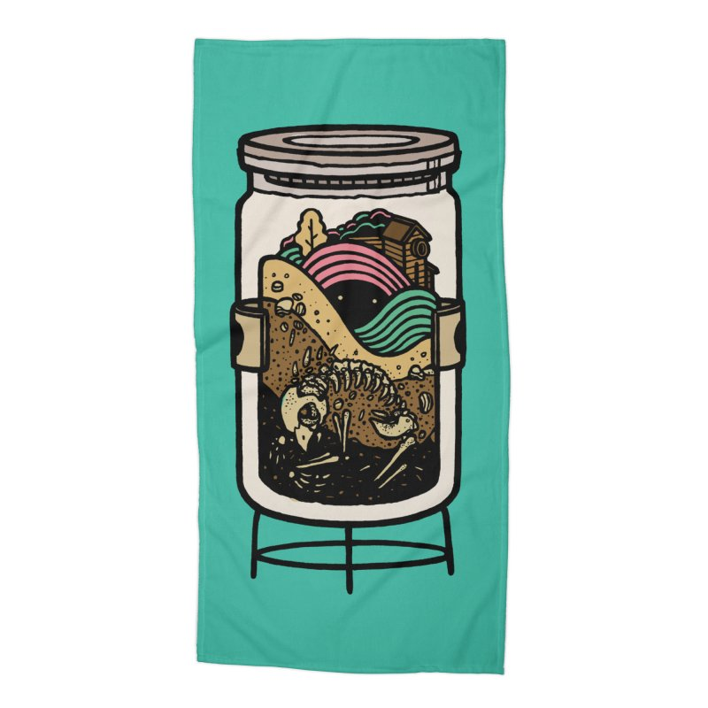 Historica Accessories Beach Towel by rasefour's Artist Shop