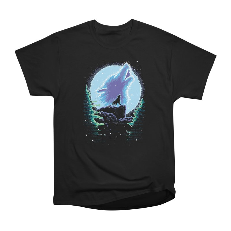 Spirit Animal in Men's Heavyweight T-Shirt Black by Meager Quest Merch Store