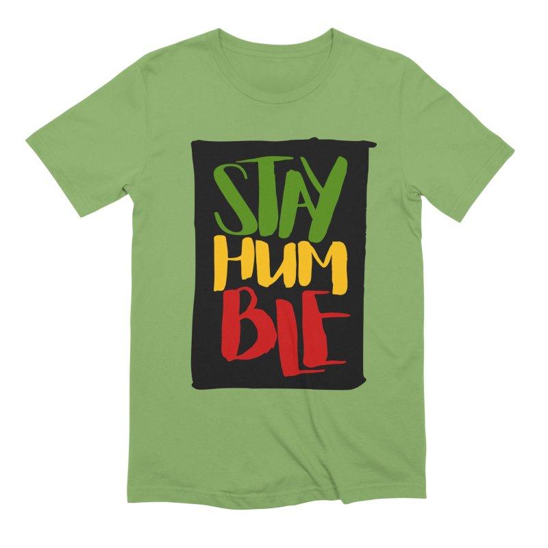 Stay Humble Men's T-Shirt by Rasta University Shop