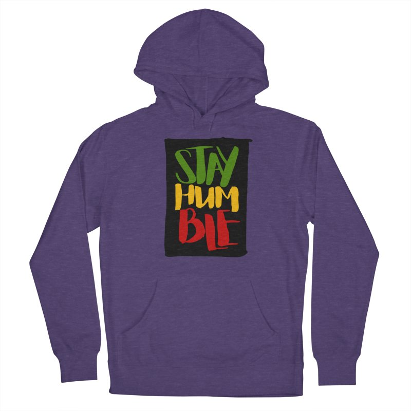 Stay Humble Men's Pullover Hoody by Rasta University Shop