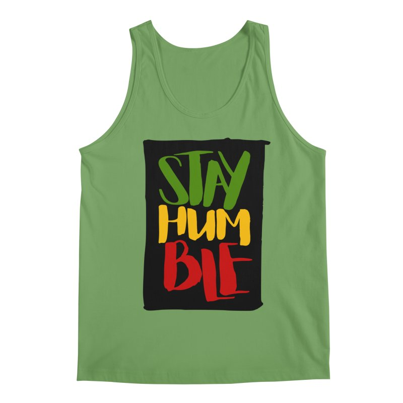 Stay Humble Men's Tank by Rasta University Shop