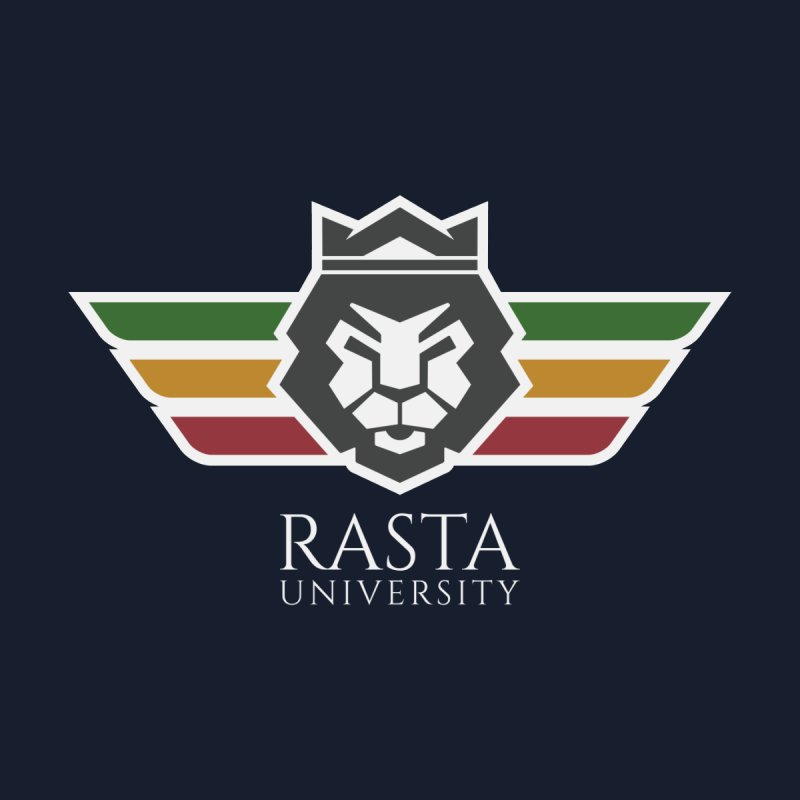 Lion Rasta University Logo (Light) Men's Tank by Rasta University Shop