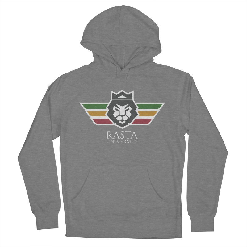 Lion Rasta University Logo (Light) Women's French Terry Pullover Hoody by Rasta University Shop