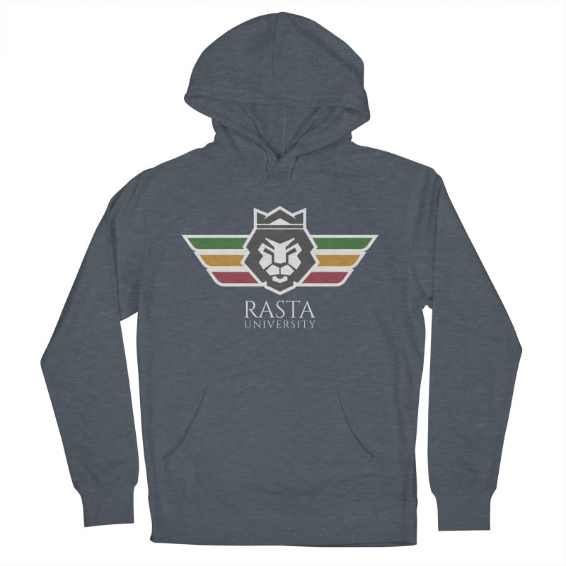 Lion Rasta University Logo (Light) Men's Pullover Hoody by Rasta University Shop