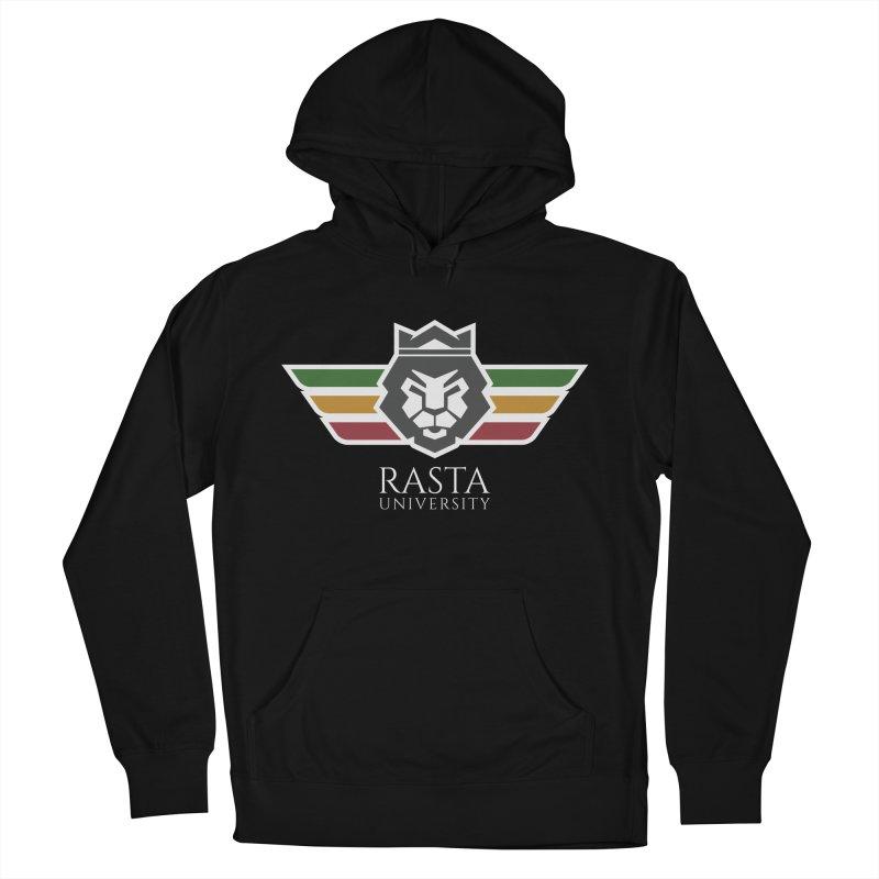 Lion Rasta University Logo (Light) Men's Pullover Hoody by Rasta University Shop