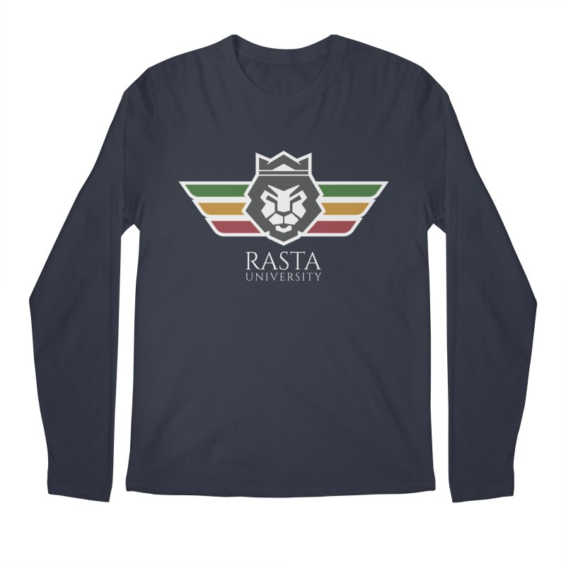 Lion Rasta University Logo (Light) Men's Longsleeve T-Shirt by Rasta University Shop