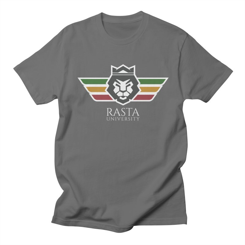 Lion Rasta University Logo (Light) Men's T-Shirt by Rasta University Shop