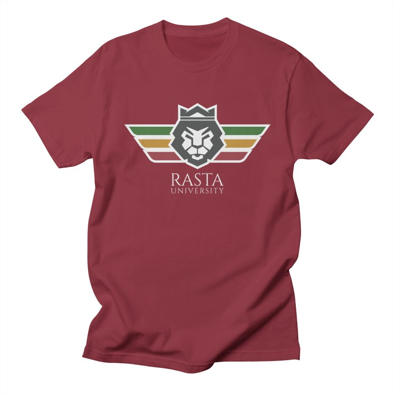 Lion Rasta University Logo (Light) Women's Regular Unisex T-Shirt by Rasta University Shop