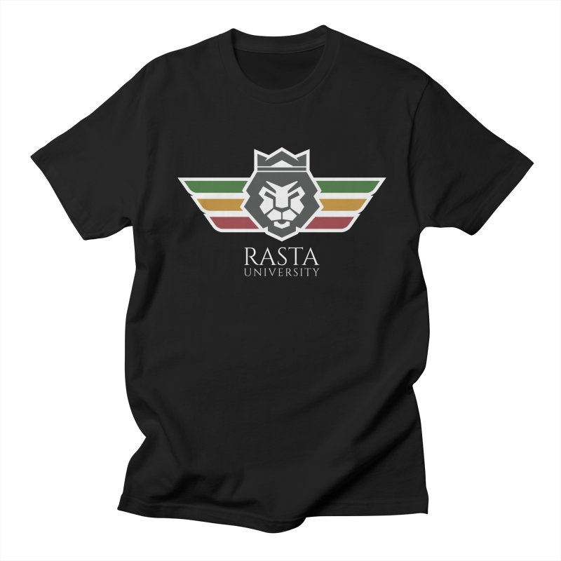 Lion Rasta University Logo (Light) Men's T-Shirt by Rasta University Shop
