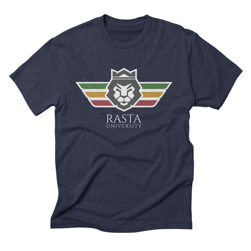 Lion Rasta University Logo (Light) Men's Triblend T-Shirt by Rasta University Shop