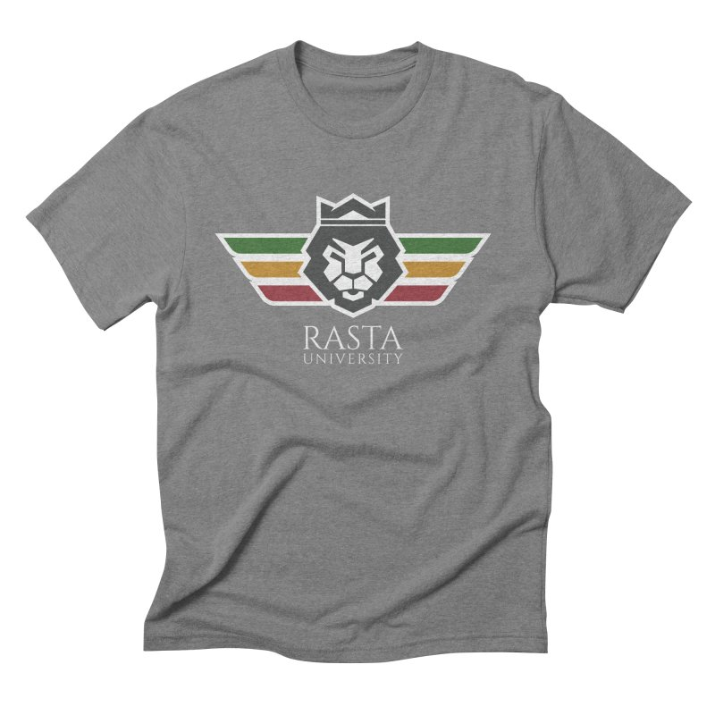 Lion Rasta University Logo (Light) Men's Triblend T-Shirt by Rasta University Shop