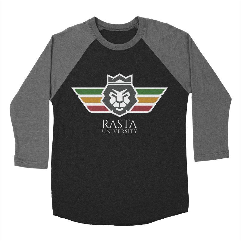 Lion Rasta University Logo (Light) Women's Baseball Triblend T-Shirt by Rasta University Shop