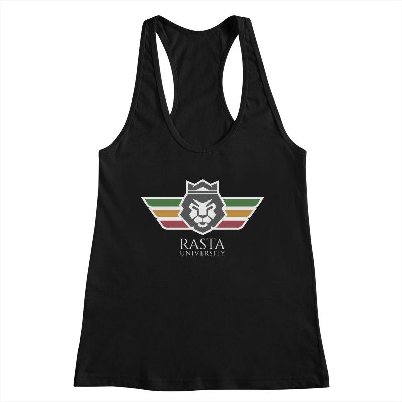 Lion Rasta University Logo (Light) Women's Tank by Rasta University Shop