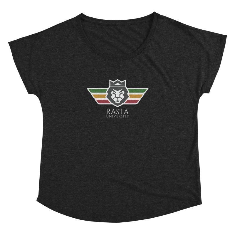 Lion Rasta University Logo (Light) Women's Dolman by Rasta University Shop