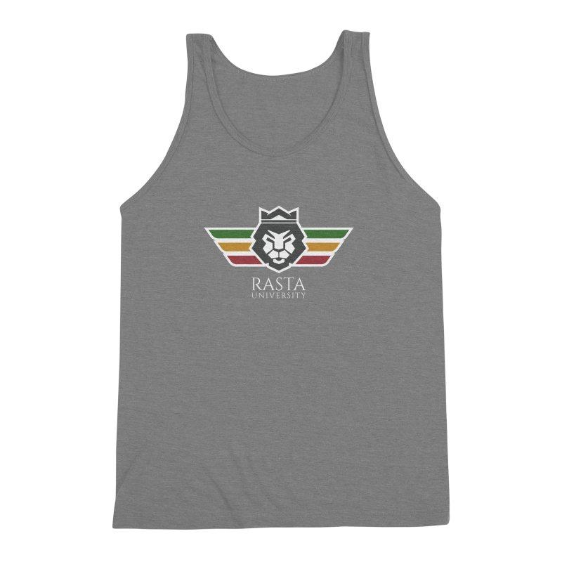 Lion Rasta University Logo (Light) Men's Triblend Tank by Rasta University Shop