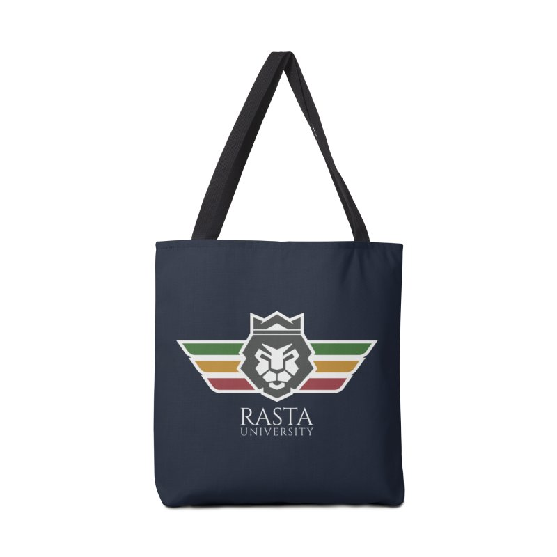 Lion Rasta University Logo (Light) Accessories Bag by Rasta University Shop