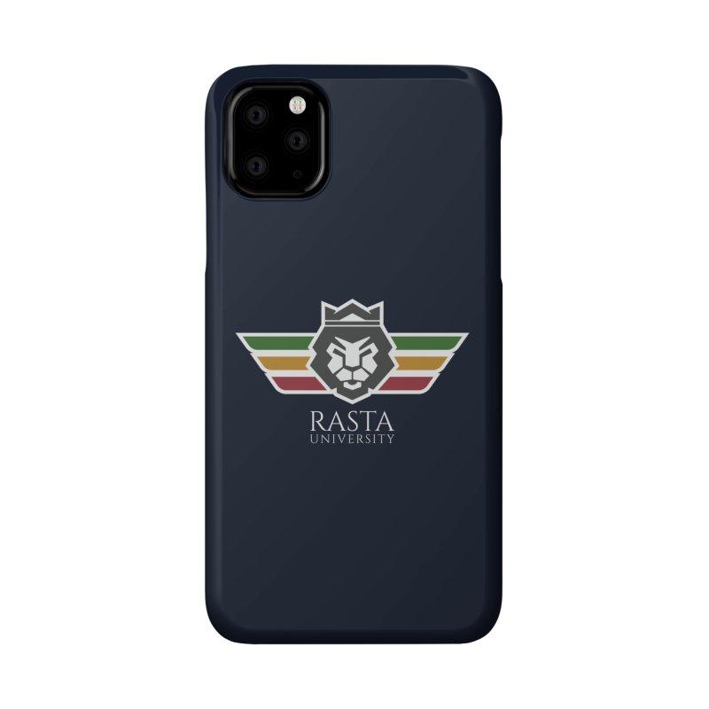 Lion Rasta University Logo (Light) Accessories Phone Case by Rasta University Shop