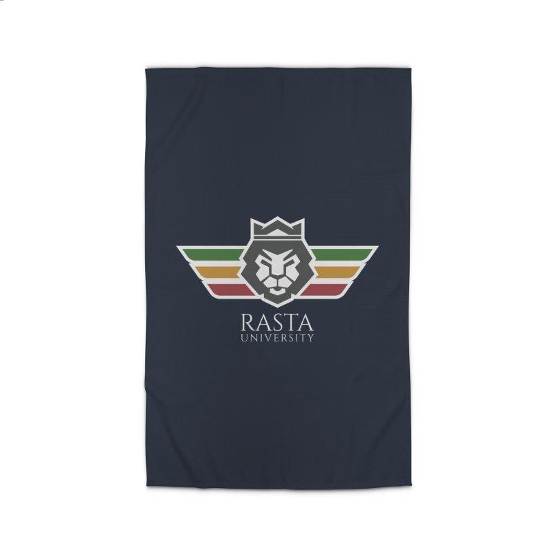 Lion Rasta University Logo (Light) Home Rug by Rasta University Shop