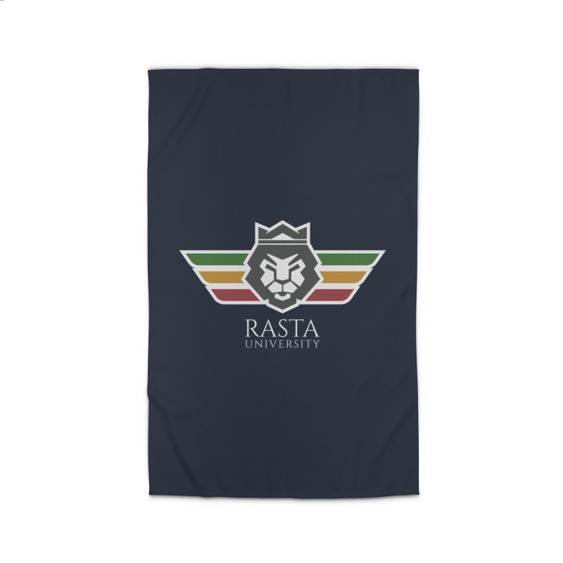 Lion Rasta University Logo (Light) Home Rug by Rasta University Shop