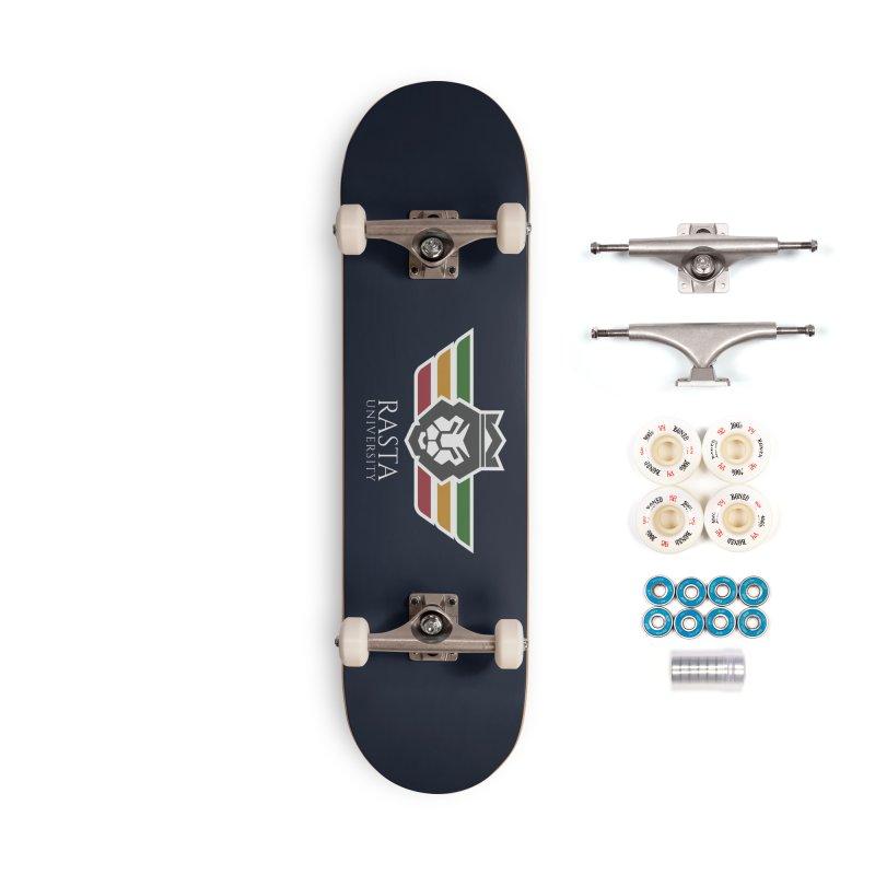 Lion Rasta University Logo (Light) Accessories Complete - Premium Skateboard by Rasta University Shop