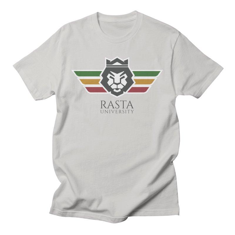 Lion Rasta University Logo (Dark) Men's T-Shirt by Rasta University Shop