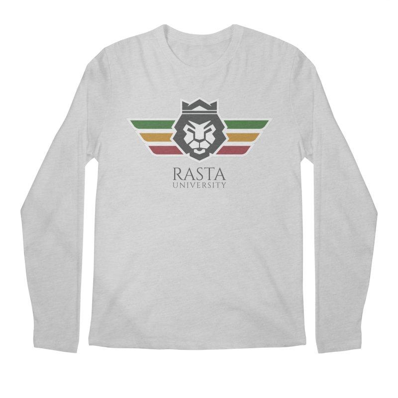 Lion Rasta University Logo (Dark) Men's Longsleeve T-Shirt by Rasta University Shop