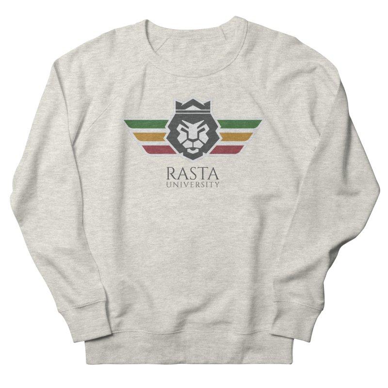 Lion Rasta University Logo (Dark) Women's Sweatshirt by Rasta University Shop