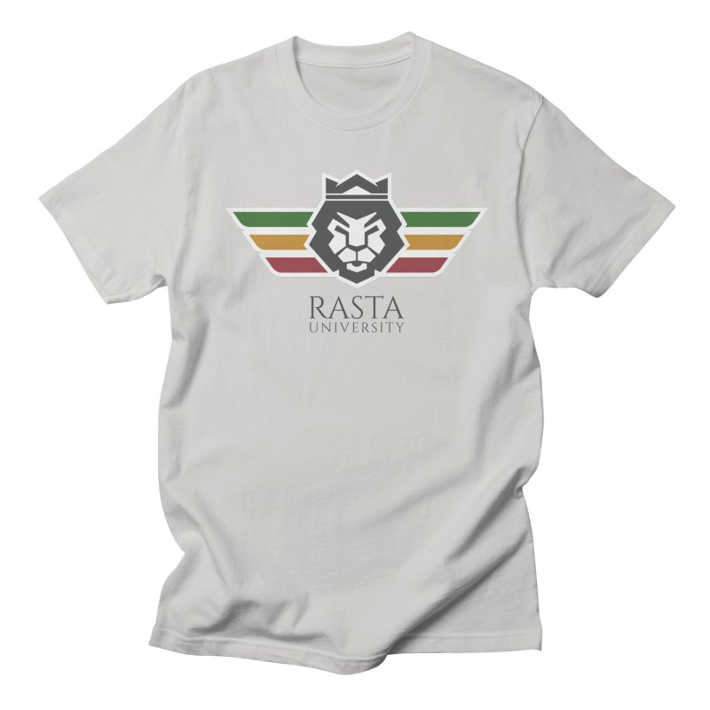 Lion Rasta University Logo (Dark) Women's Regular Unisex T-Shirt by Rasta University Shop