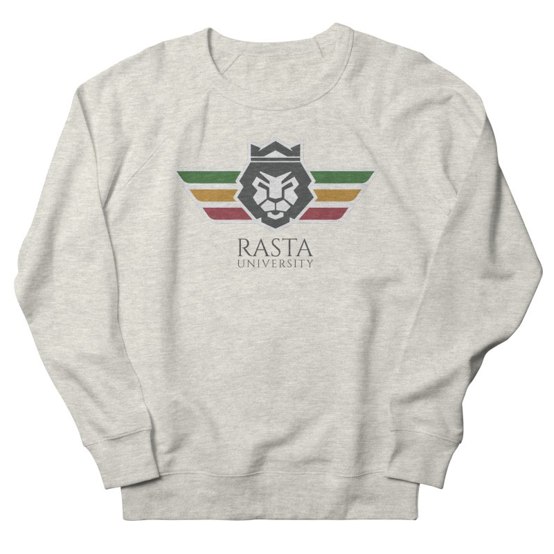 Lion Rasta University Logo (Dark) Women's French Terry Sweatshirt by Rasta University Shop