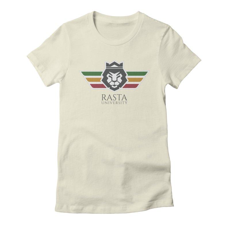 Lion Rasta University Logo (Dark) Women's T-Shirt by Rasta University Shop
