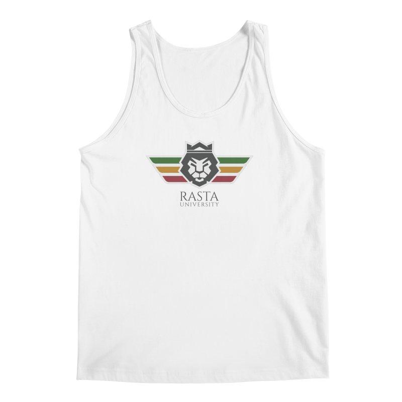Lion Rasta University Logo (Dark) Men's Tank by Rasta University Shop