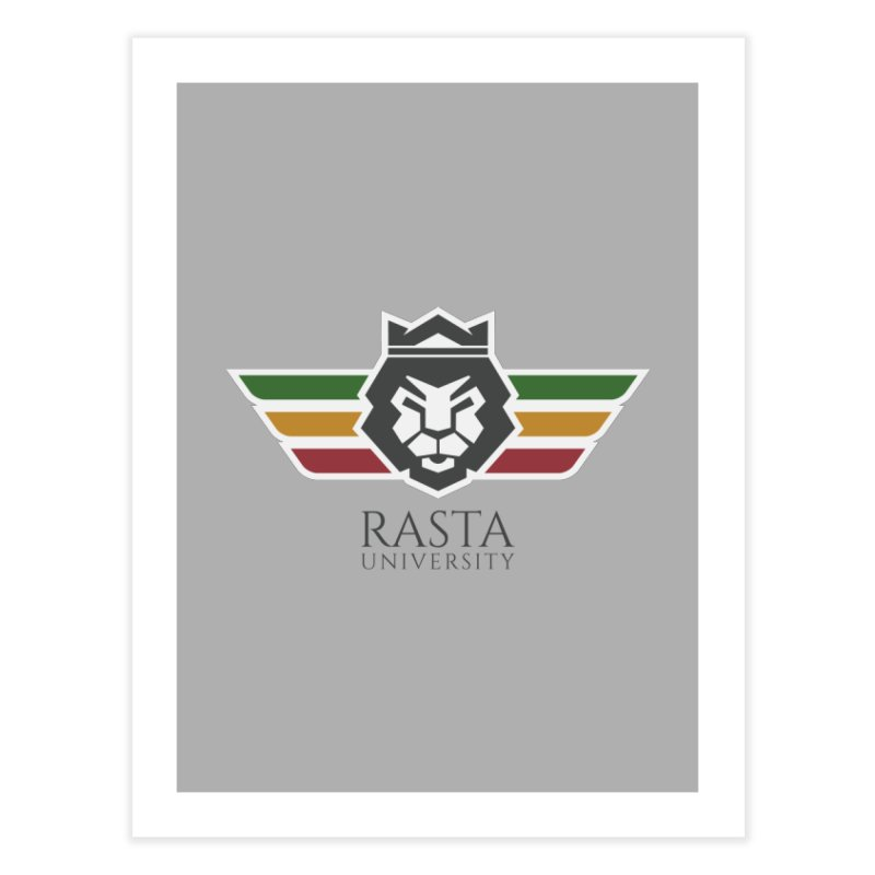Lion Rasta University Logo (Dark)   by Rasta University Shop