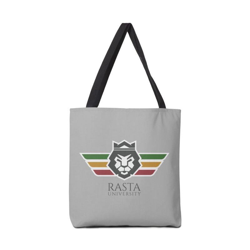 Lion Rasta University Logo (Dark) Accessories Bag by Rasta University Shop