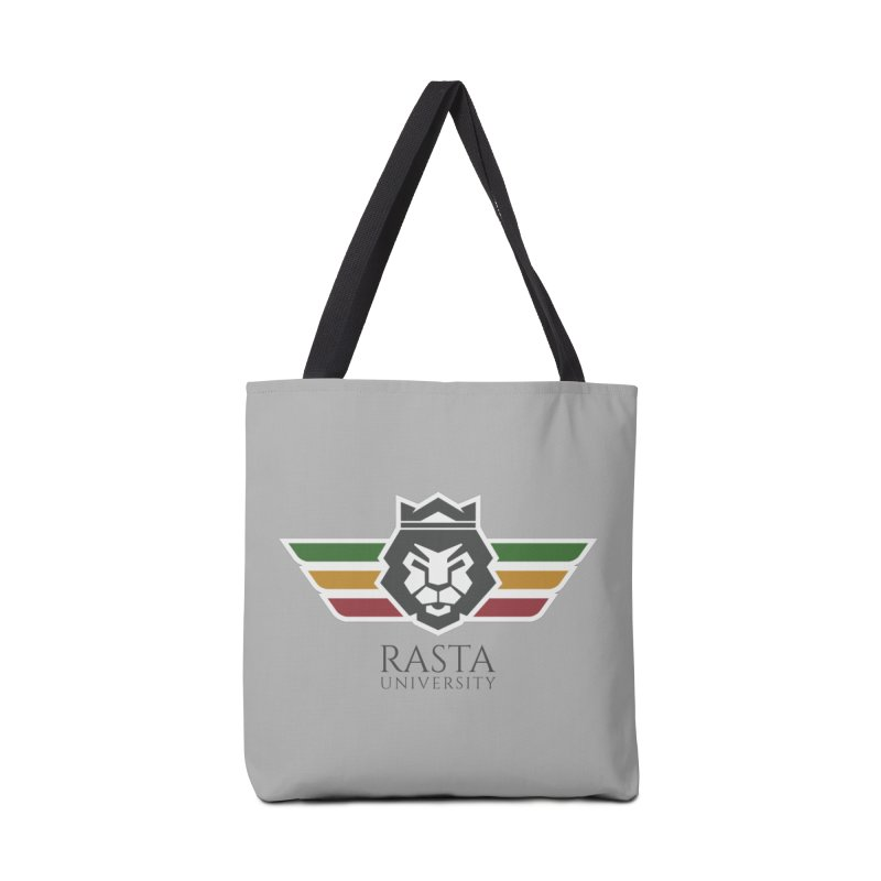 Lion Rasta University Logo (Dark) Accessories Bag by Rasta University Shop