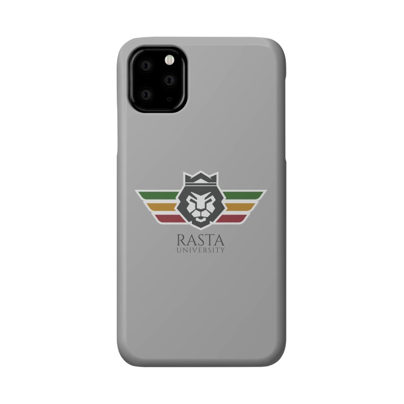 Lion Rasta University Logo (Dark) Accessories Phone Case by Rasta University Shop