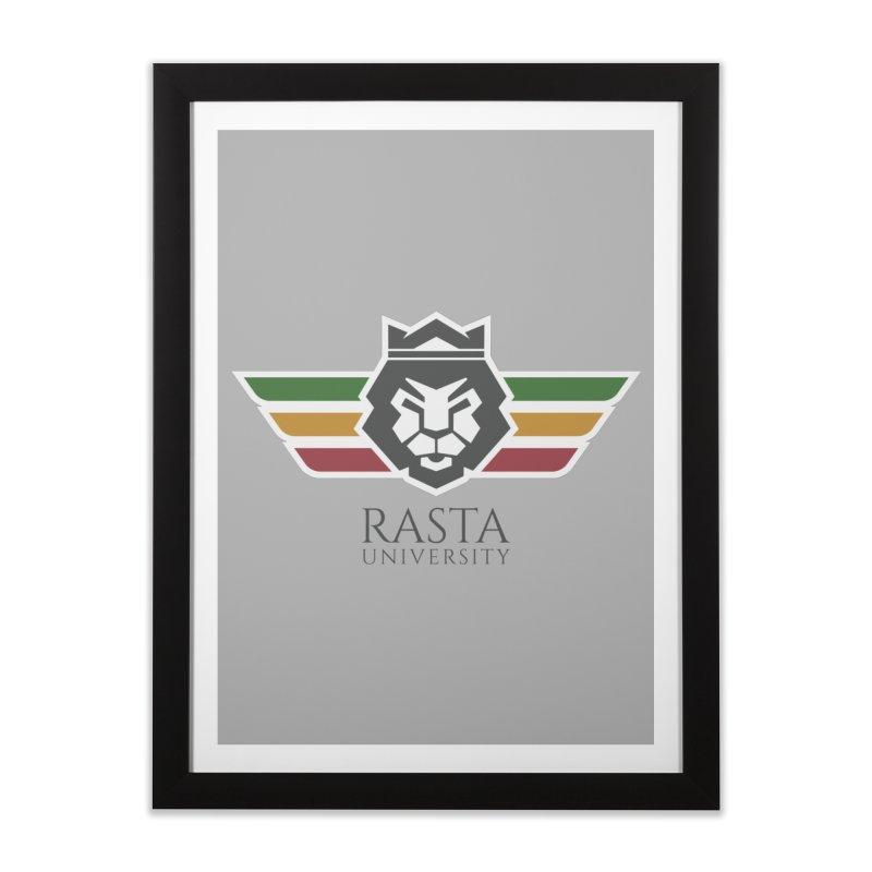Lion Rasta University Logo (Dark)   by Rasta University Shop