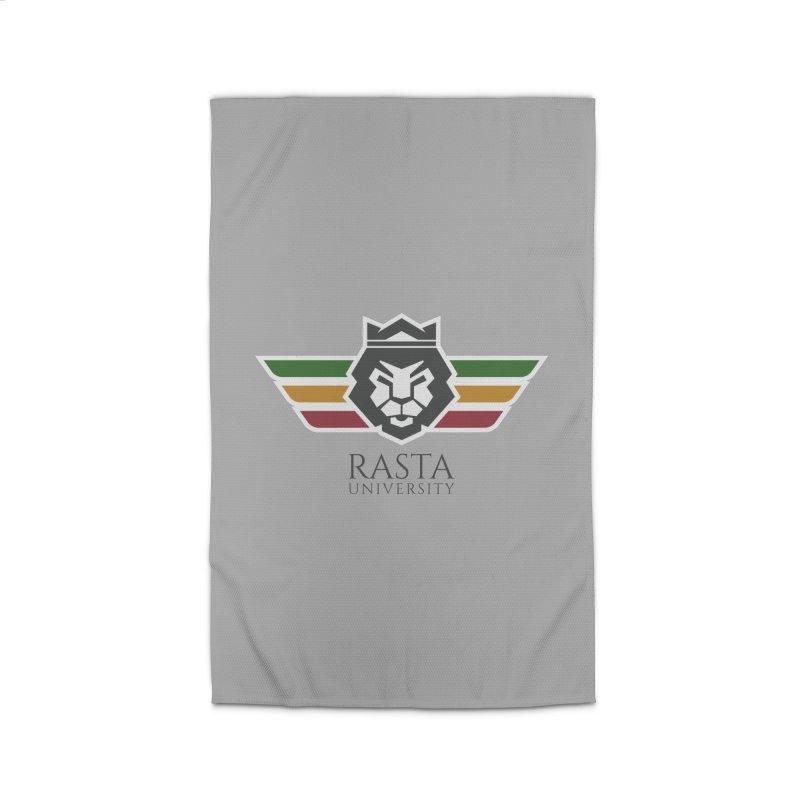 Lion Rasta University Logo (Dark) Home Rug by Rasta University Shop