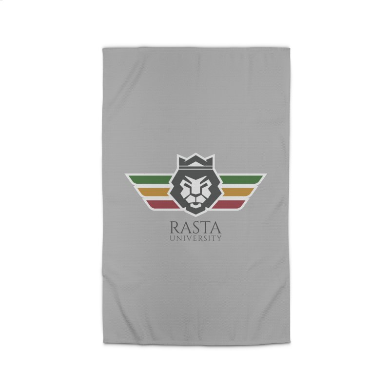 Lion Rasta University Logo (Dark) Home Rug by Rasta University Shop
