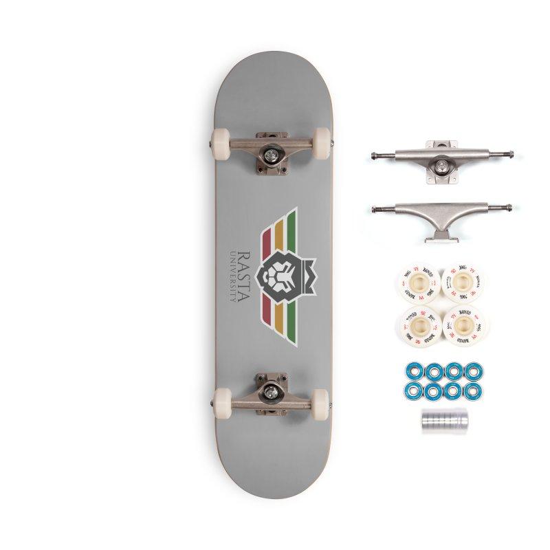 Lion Rasta University Logo (Dark) Accessories Complete - Premium Skateboard by Rasta University Shop