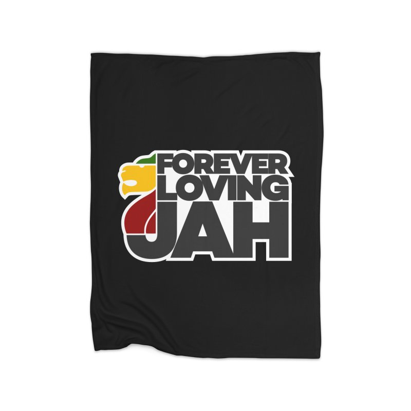 Forever Loving Jah Home Blanket by Rasta University Shop
