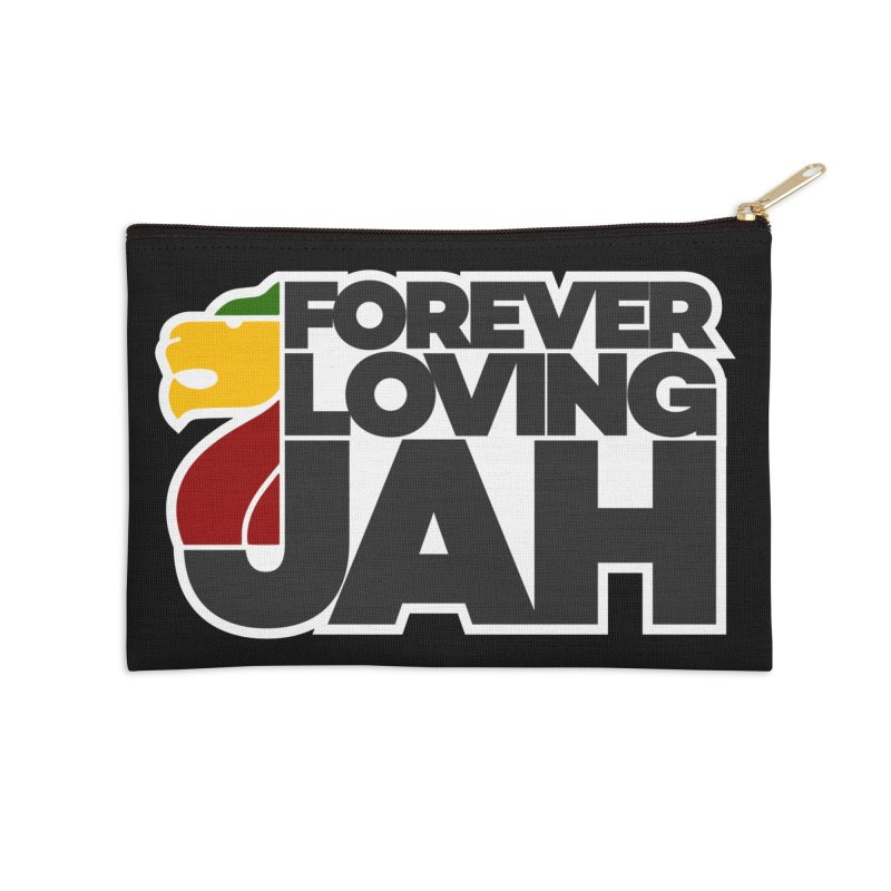 Forever Loving Jah Accessories Zip Pouch by Rasta University Shop