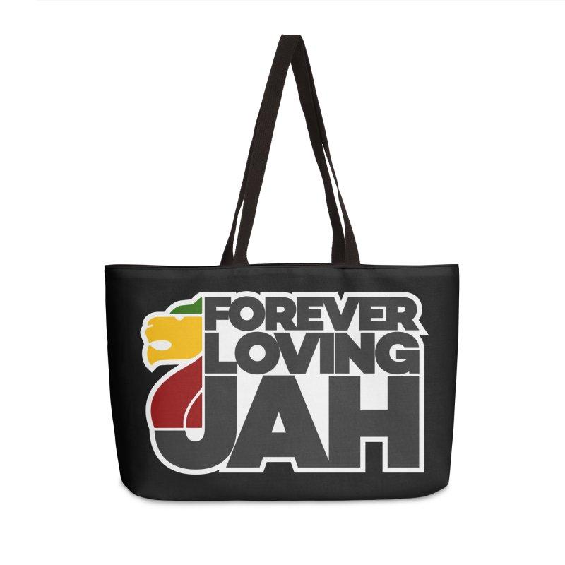 Forever Loving Jah Accessories Weekender Bag Bag by Rasta University Shop