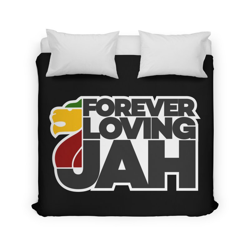 Forever Loving Jah Home Duvet by Rasta University Shop