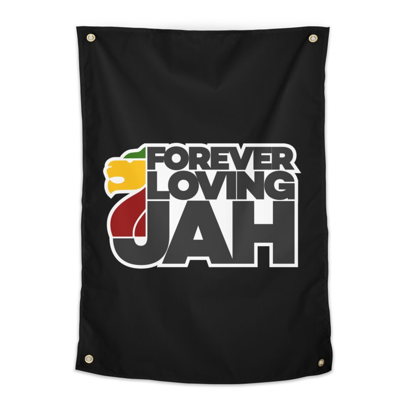 Forever Loving Jah Home Tapestry by Rasta University Shop